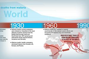 Visualizing Global Health Challenge: Malaria